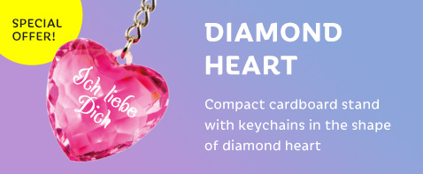 Diamond heart — special offer